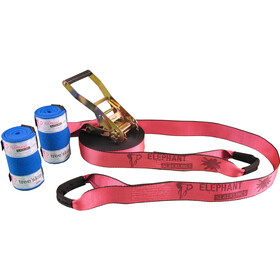 Elephant Slacklines Rookie Flash'line Set, pink